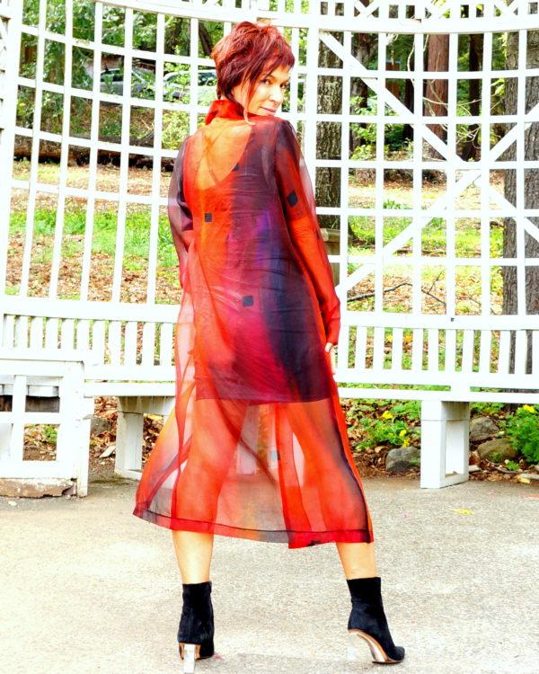 Organza coat  fall