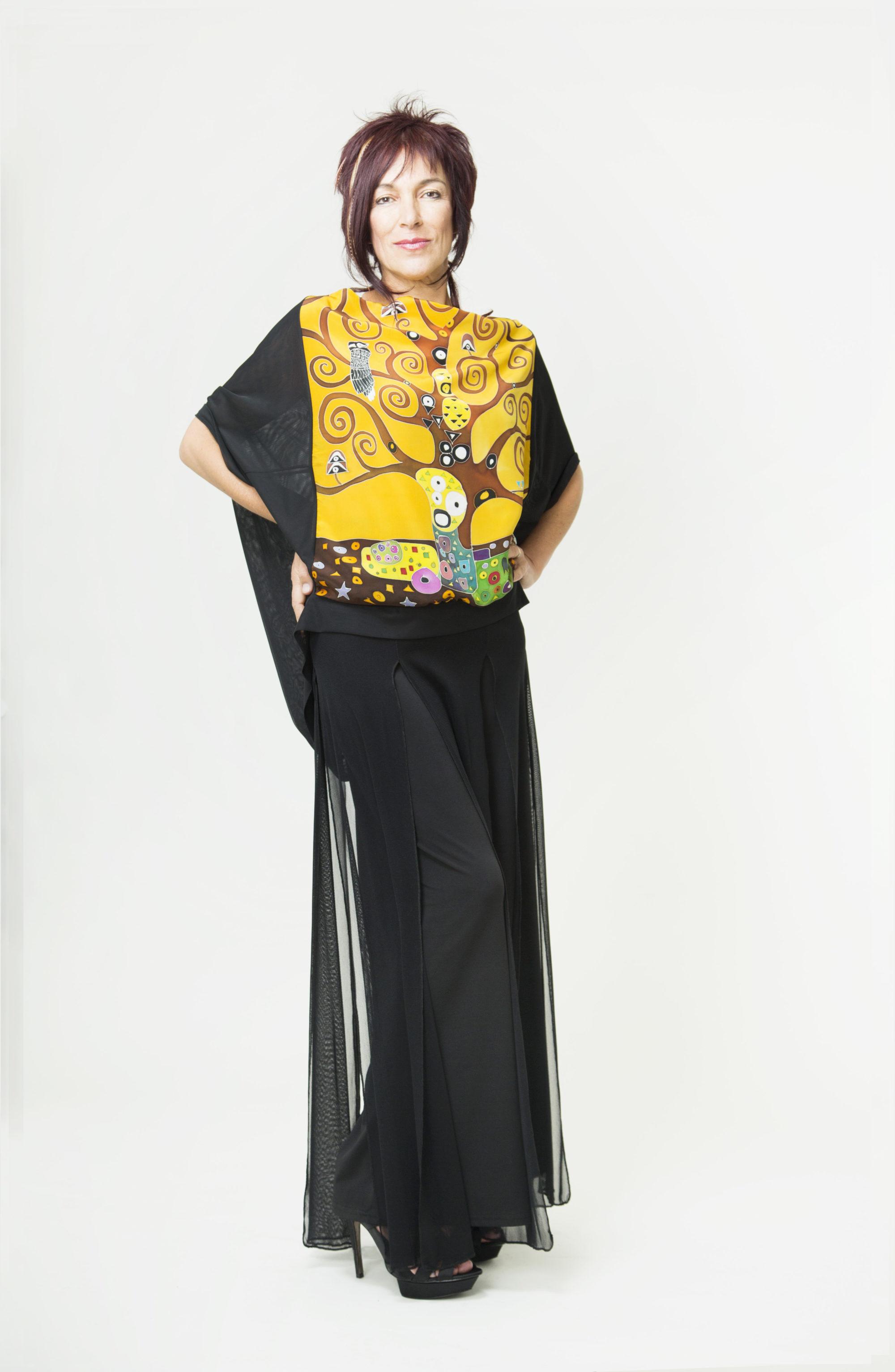 Tunic  Homage to Klimt