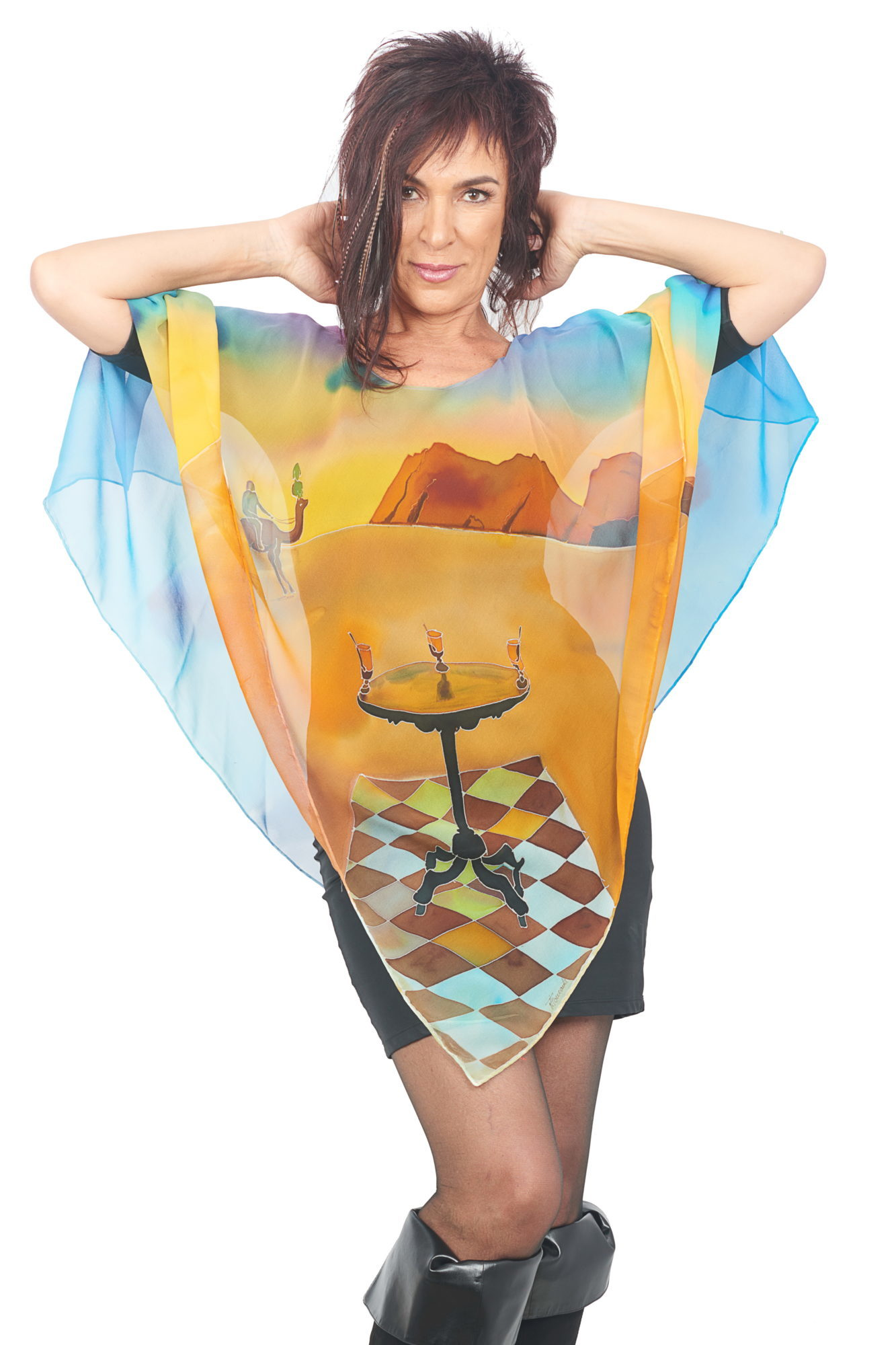 Poncho Homage to dali