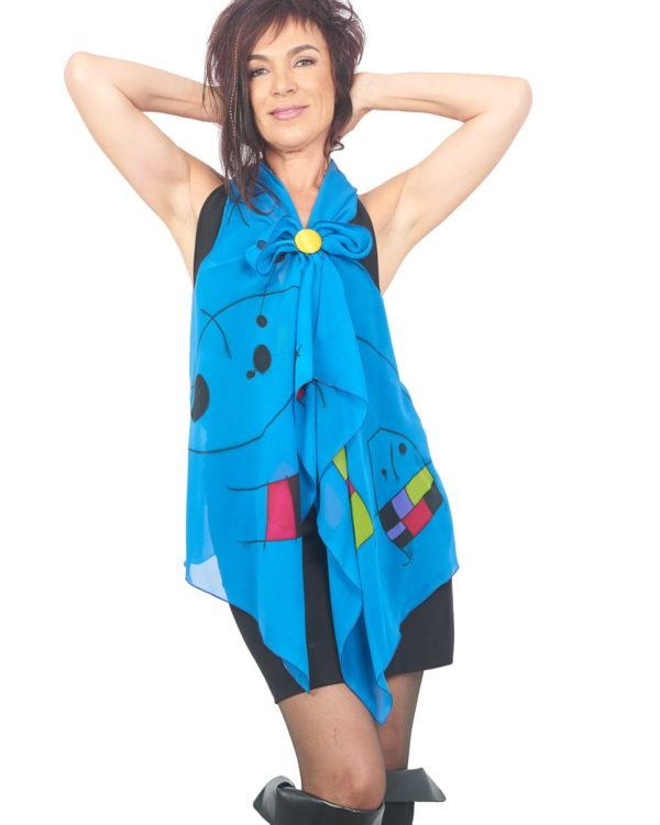 Mini Vest Blue Miro