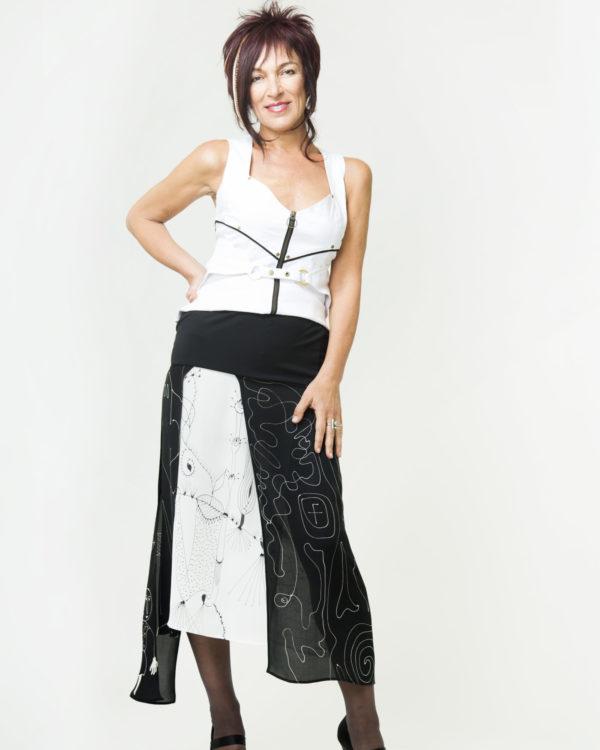 Skirt   Homage to Klee