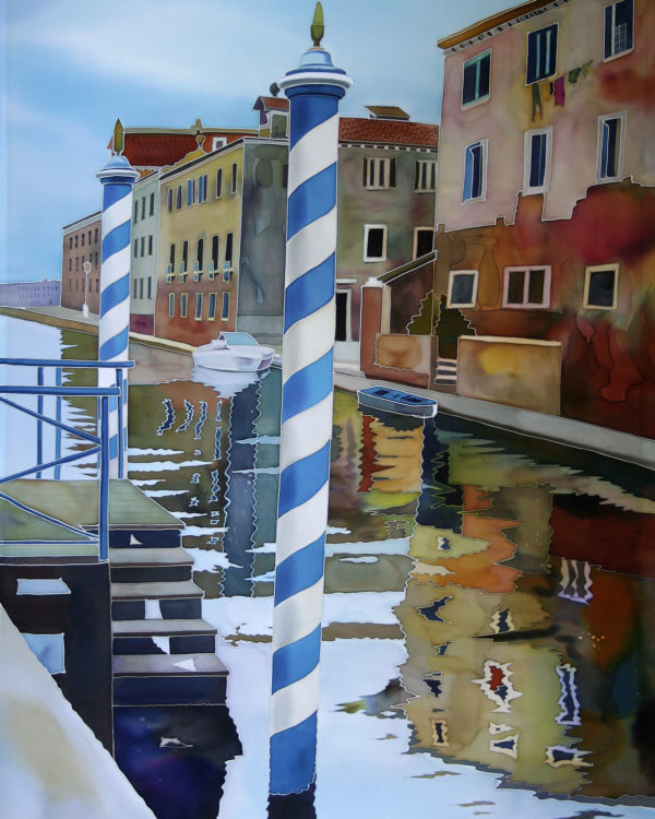 Striped Pole, Venice