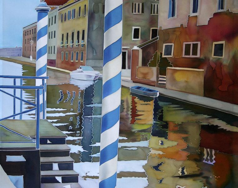 Striped Pole, Venice