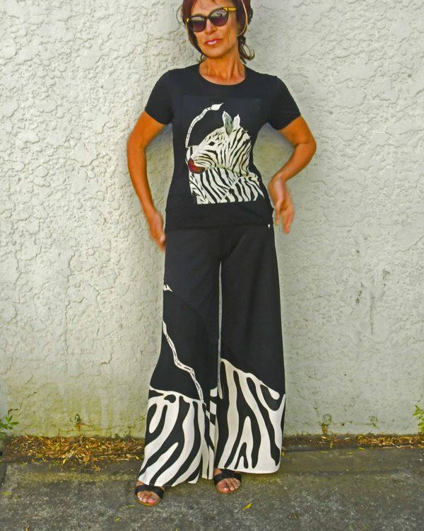 Zebra T-shirt and pants
