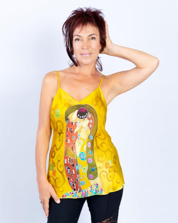 Homage to Klimt, The Kiss