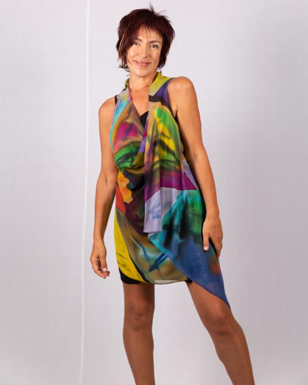 Mini vest homage to Modigliani