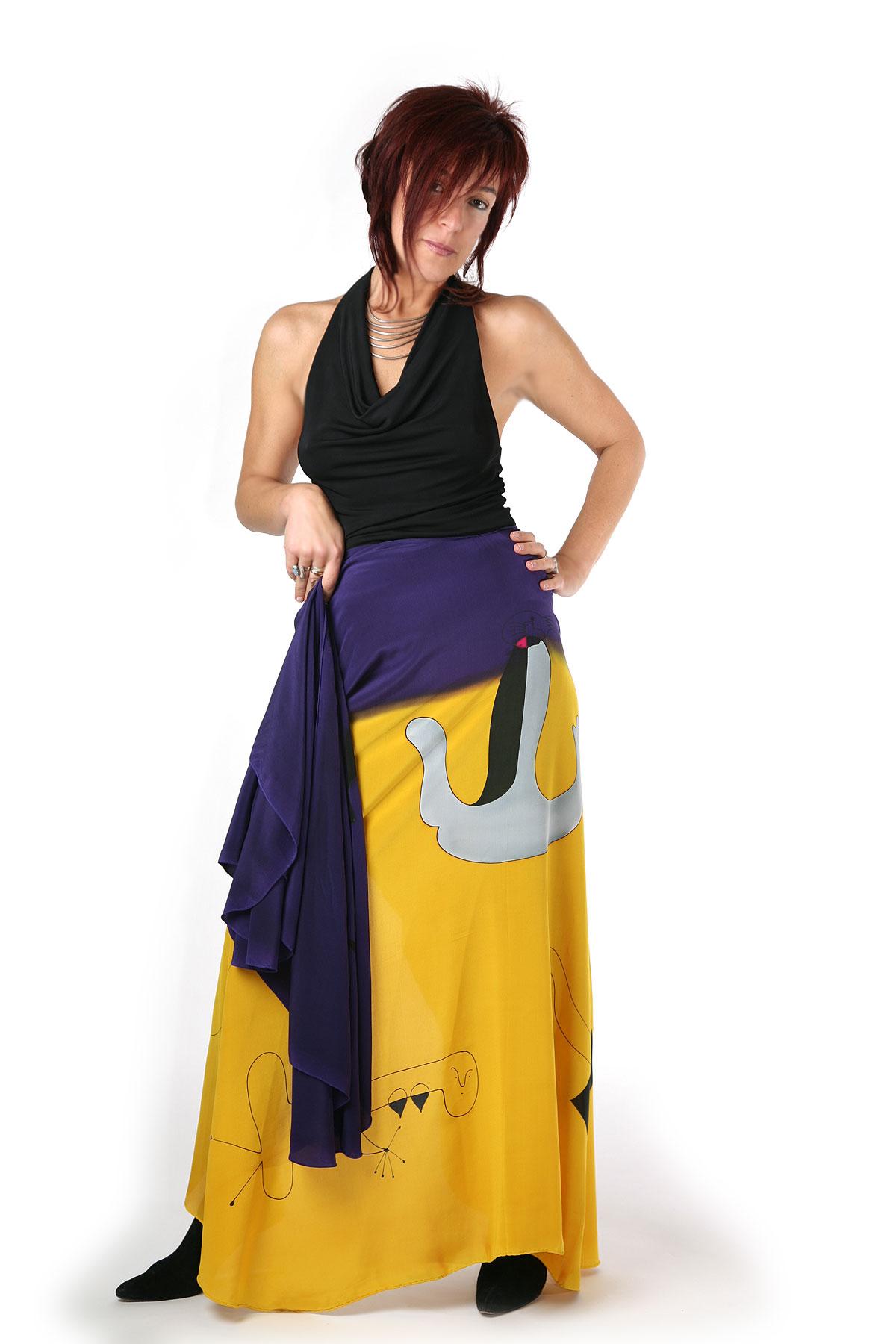 Yellow Purple Miro