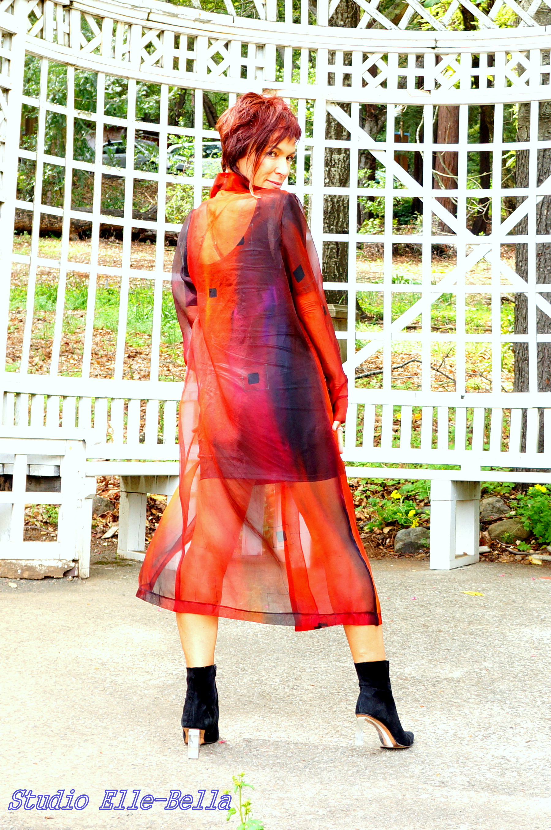 Organza coat  fall