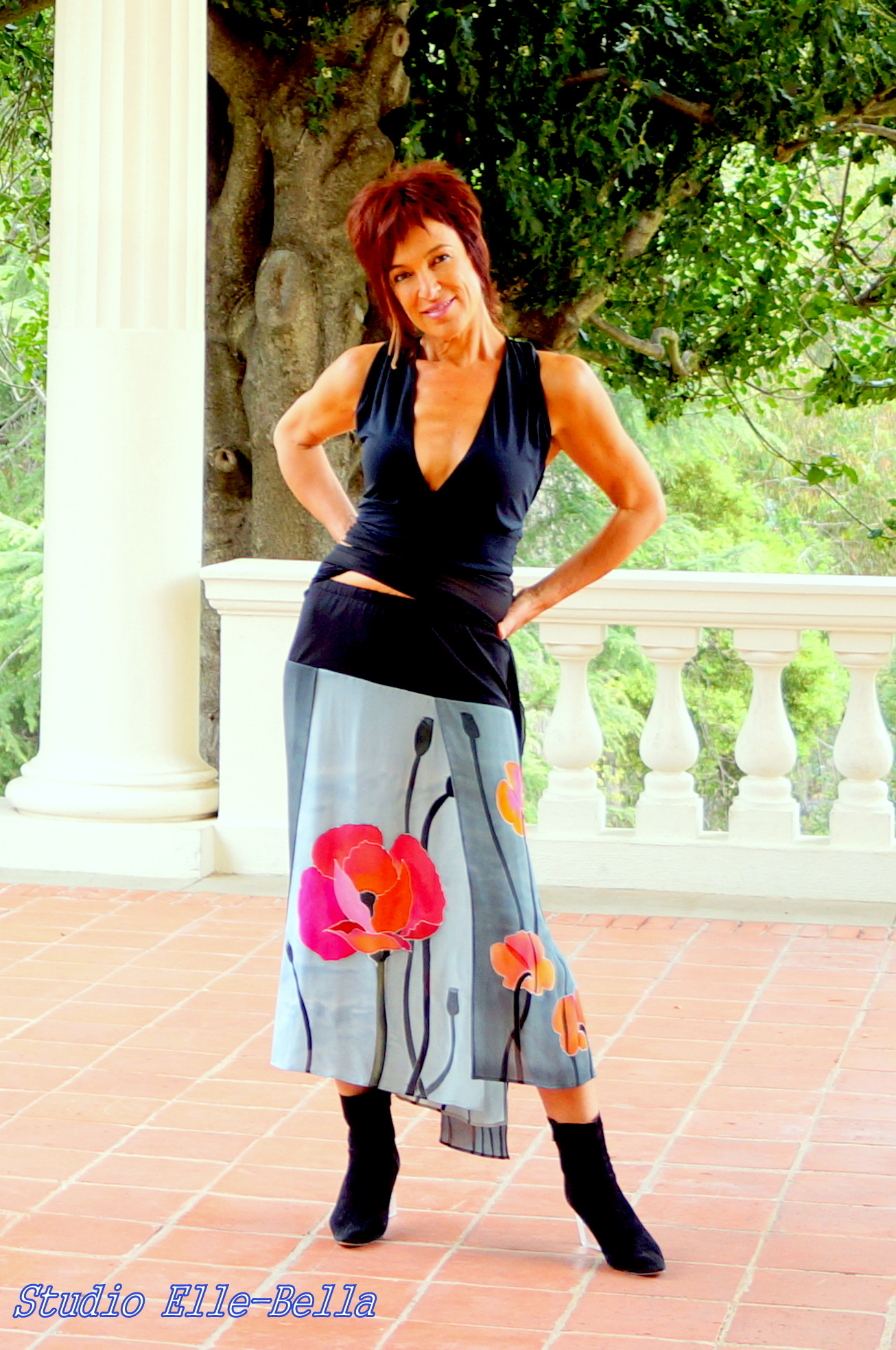 Skirt Poppies
