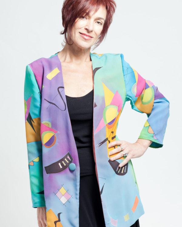 Jacket Homage to Kandinsky