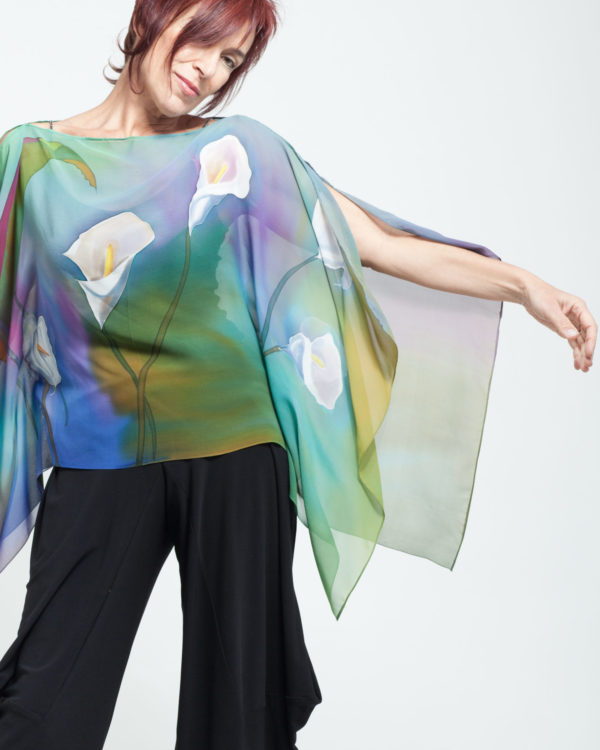 Top with with Calla Lilies