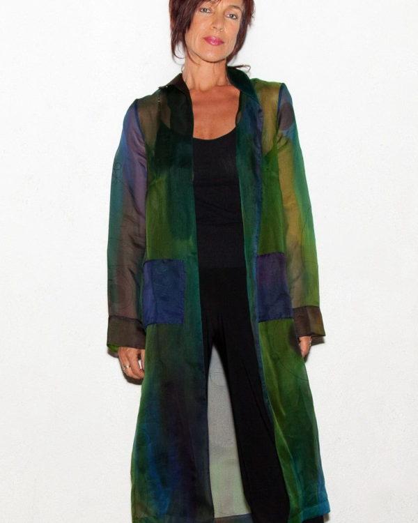Silk Organza Coat