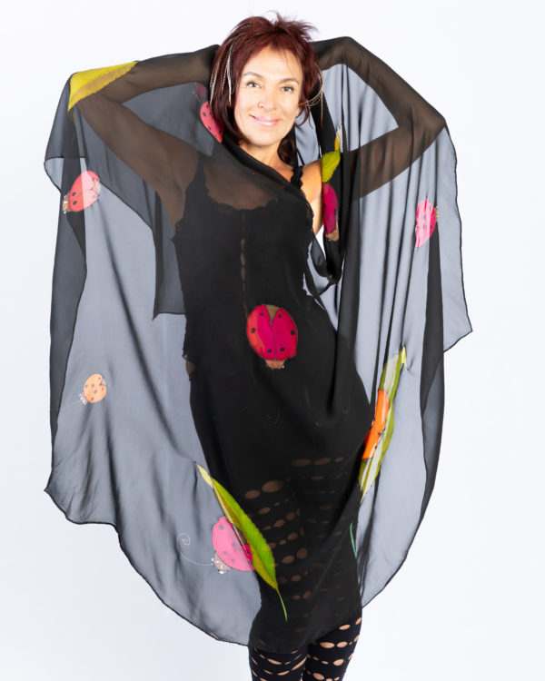 Cape with lady bugs