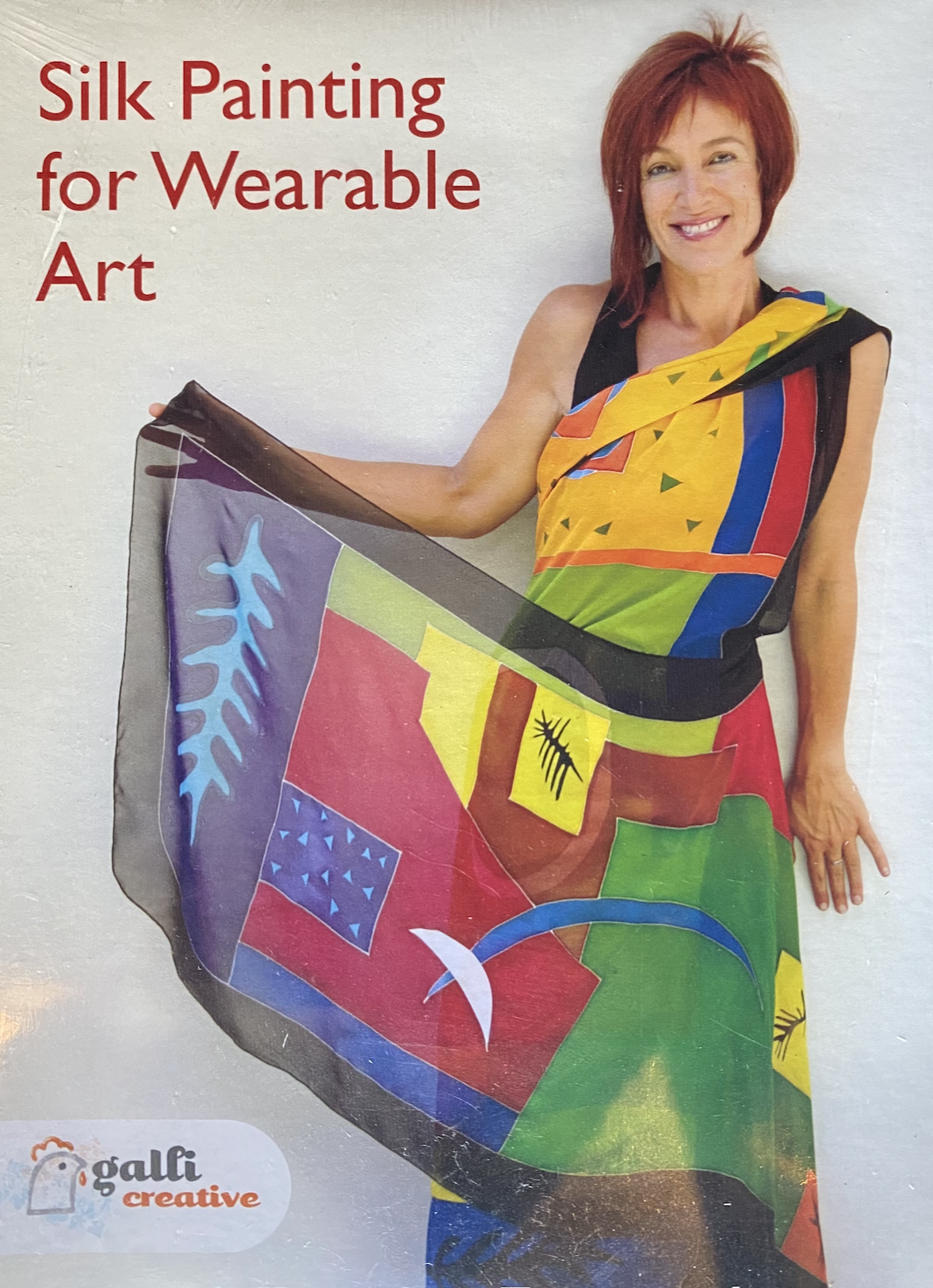 Silk Painting for Wearable Art DVD